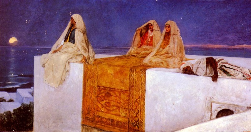 Arabian Nights by Jean Joseph Benjamin Constant. Credit: Wikimedia Commons