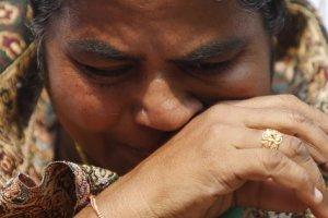 Radhika Vemula. Credit: Anindito Mukherjee/Reuters