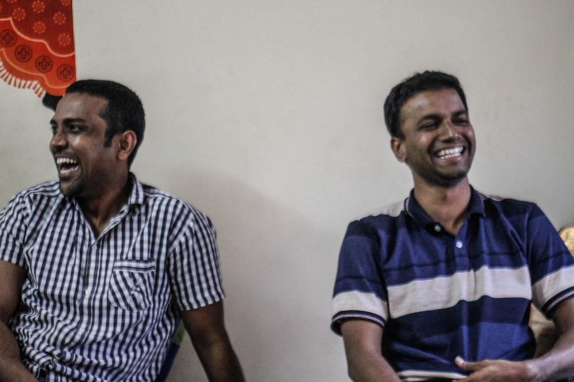 Sagar Gorkhe and Ramesh Gaichor. Credit: Javed Iqbal