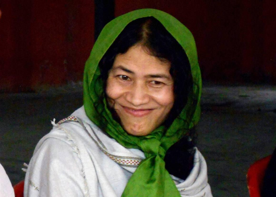 Irom Sharmila. Credit: PTI