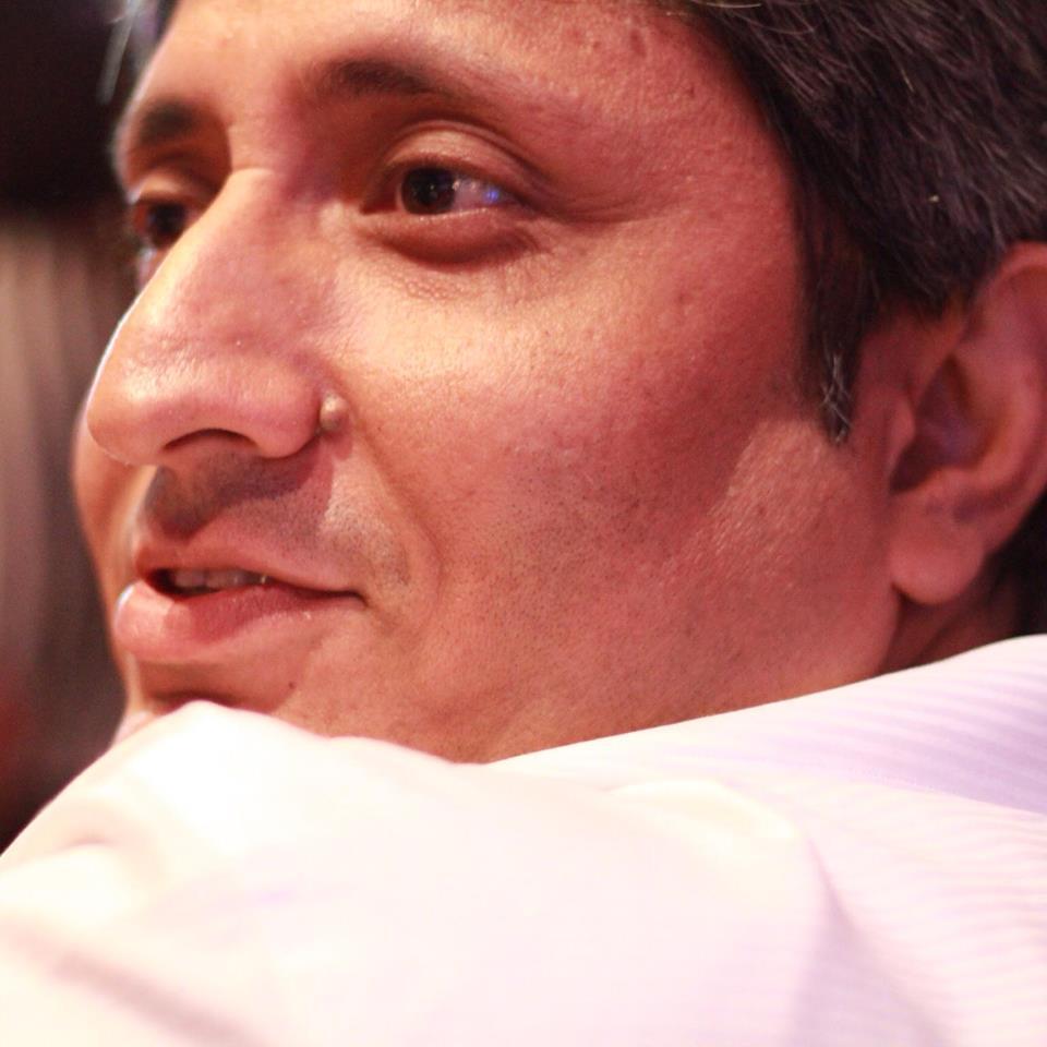 Ravish Kumar. Credit: Ravish Kumar's Facebook page.
