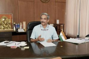 Goa chef minister Manohar Parrikar had it in him to be amongst India's distinguished Raksha Mantris. Credit: PTI