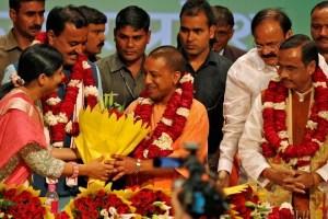 Adityanath. Credit: Reuters/Files