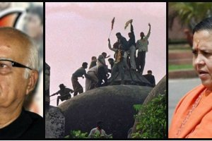 Advani, Uma Bharti and others will now face criminal conspiracy charges in the Babri demolition case. Credit: Reuters, PTI, PTI