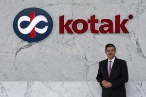 Uday Kotak, Managing Director of Kotak Mahindra Bank poses for a picture at the company's corporate office in Mumbai. Credit: Reuters