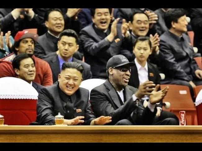 Kim Jong Un and Dennis Rodman Credit: YouTube