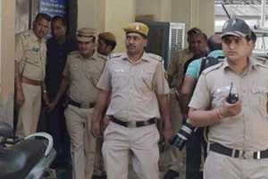 Representative image of Delhi police officers. Credit: PTI
