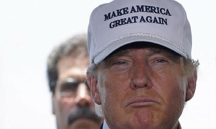 Trump's Make America Great Again. Credit: Reuters