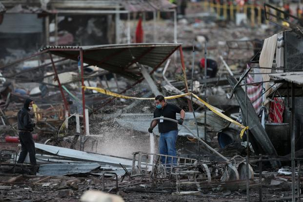 Fireworks Cache Explodes in Mexico, Killing at Least 12