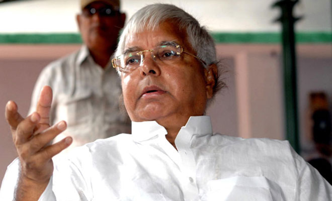 Lalu Prasad Yadav to stand separate trial in all four fodder scam cases.Credit: PTI