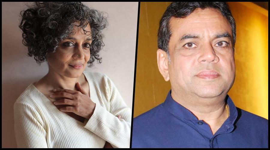 Image result for Paresh Rawal Arundhati Roy