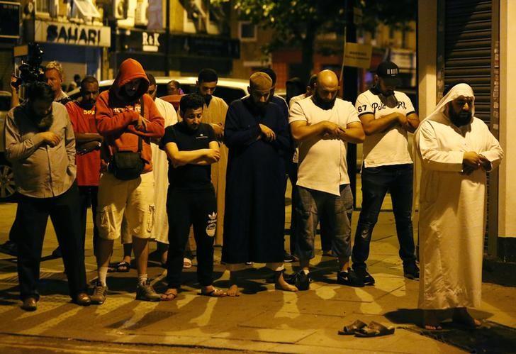 London mosque, finsbury park, london attack