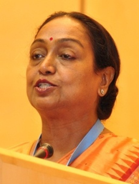 Meira Kumar is a five-time Lok Sabha MP and served as Speaker between 2009 and 2014. Credit: Wikimedia