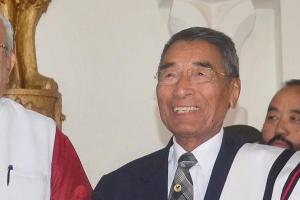 Nagaland Chief Minister Shurhozelie Liezietsu. Credit: PTI