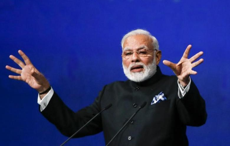 Prime Minister Narendra Modi. Credit: Reuters/Grigory Dukor