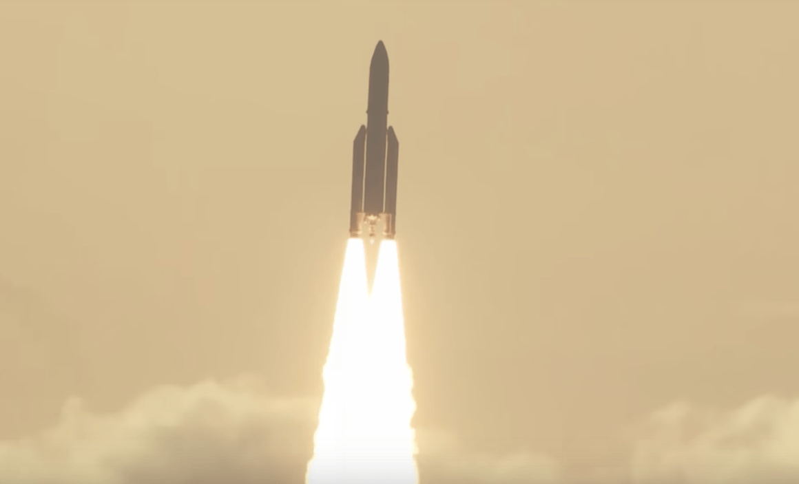 on june 29 2017 an ariane 5 rocket launched the gsat 17 and