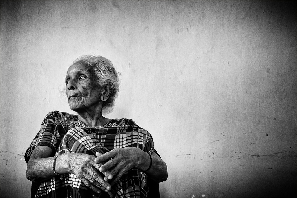 Elderly women are likely to be most vulnerable, according to the UN report. Representative image credit: Vinoth Chandar/Flickr CC BY 2.0