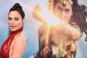 Gal Gadot, the Israeli actress who plays Wonder Woman. Credit: Haaretz