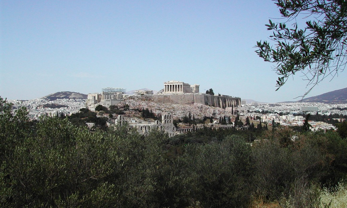 Elements of the Acropolis are thought to have been provided for through the public service of liturgy. Credit: Francesco Bandarin/UNESCO