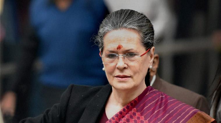 Congress president Sonia Gandhi. Credit: PTI