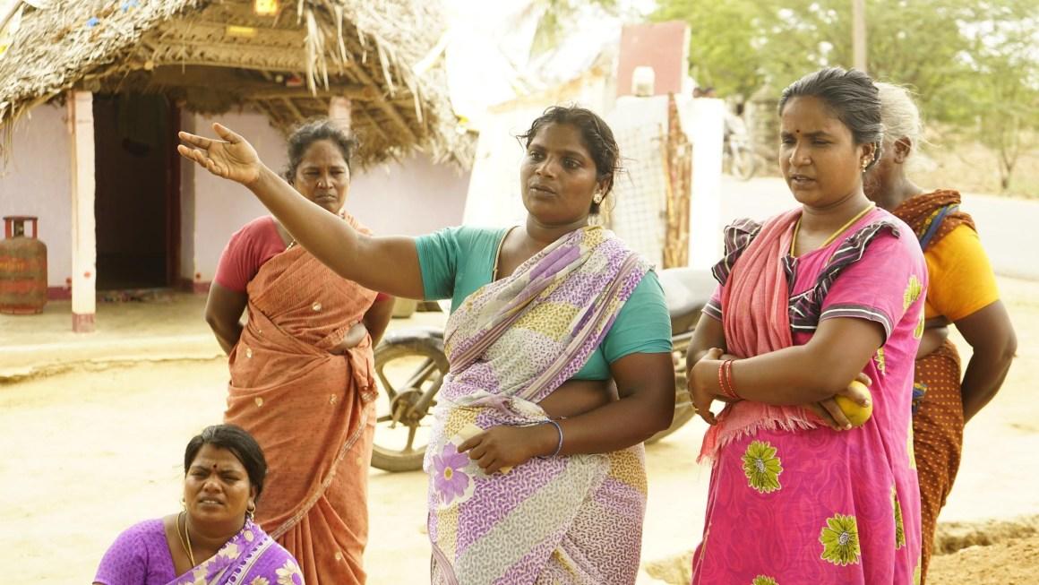 The protesting women of Vengal. Credit: G. Rajaram