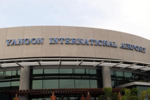 The main building of Yangon international airport. Credit: Reuters