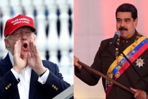 "US President Donald Trump has threatened Venezuela with ""strong economic actions."" Credit: Reuters"