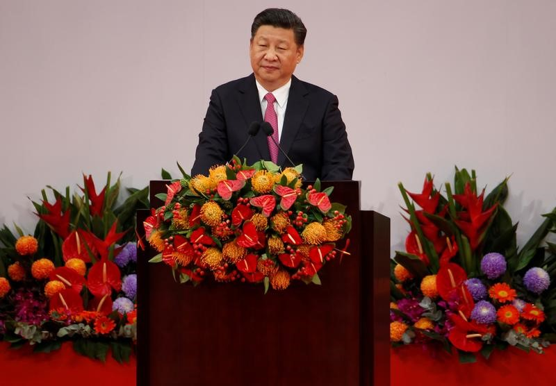 In phone call, Xi urges Trump to honor USA  pledges