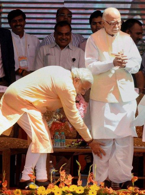 LK Advani Narendra Modi