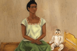 Me and My Doll by Frida Kahlo