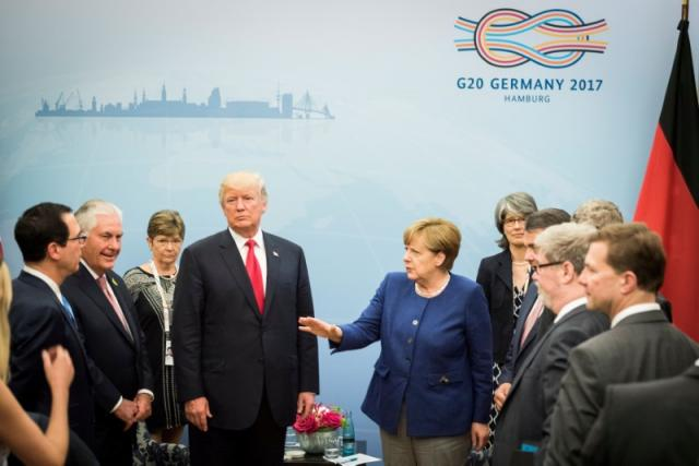 Trump, World Leaders Head to G20 Summit Under N Korea Shadow