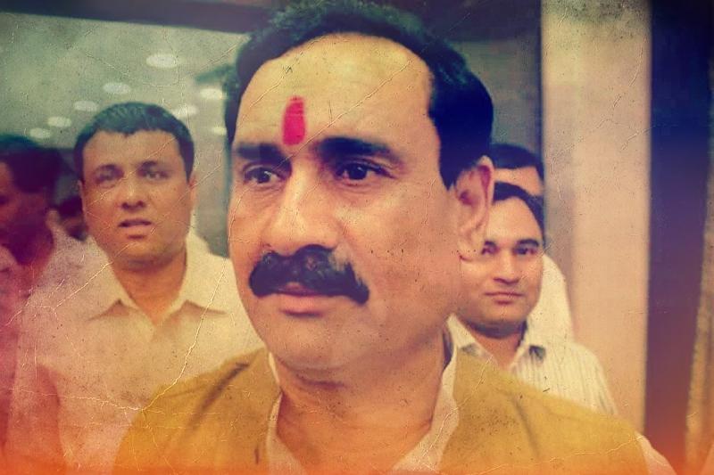 Madhya Pradesh minister Narottam Mishra. Credit: PTI
