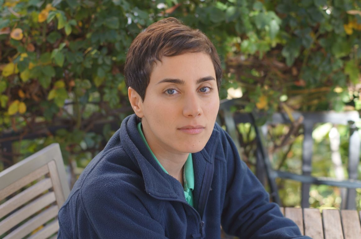 Maryam Mirzakhani. Credit: Stanford University