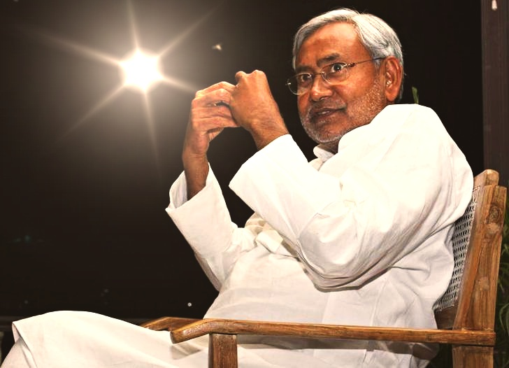 Bihar chief minister Nitish Kumar. Credit: Reuters/Stringer/Files