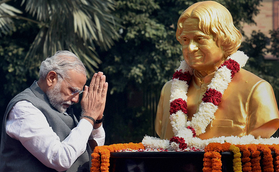 Modi Has No Right to Honour Kalam Till He Disowns His Minister's Insulting Remark