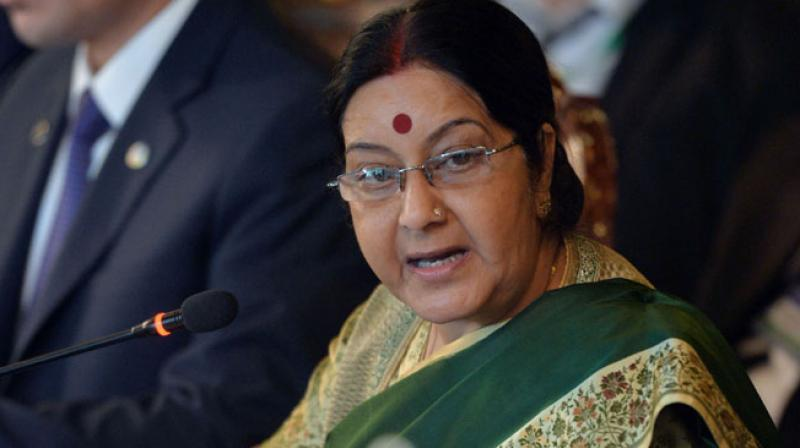 Sushma Swaraj. Credit: PTI