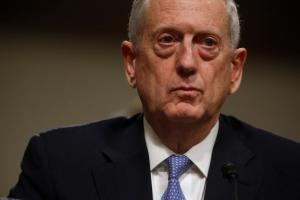 Defence secretary Jim Mattis. Credit: Reuters