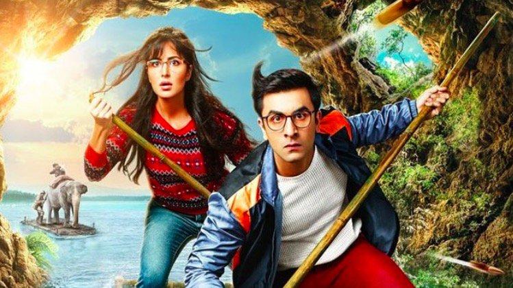 Ranbir Kapoor and Katrina Kaif starring Jagga Jasoos. Credit: Twitter