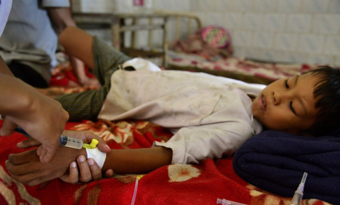 Malaria is rampant in the area and the number of cases is more than the last years. Credit: Reuters