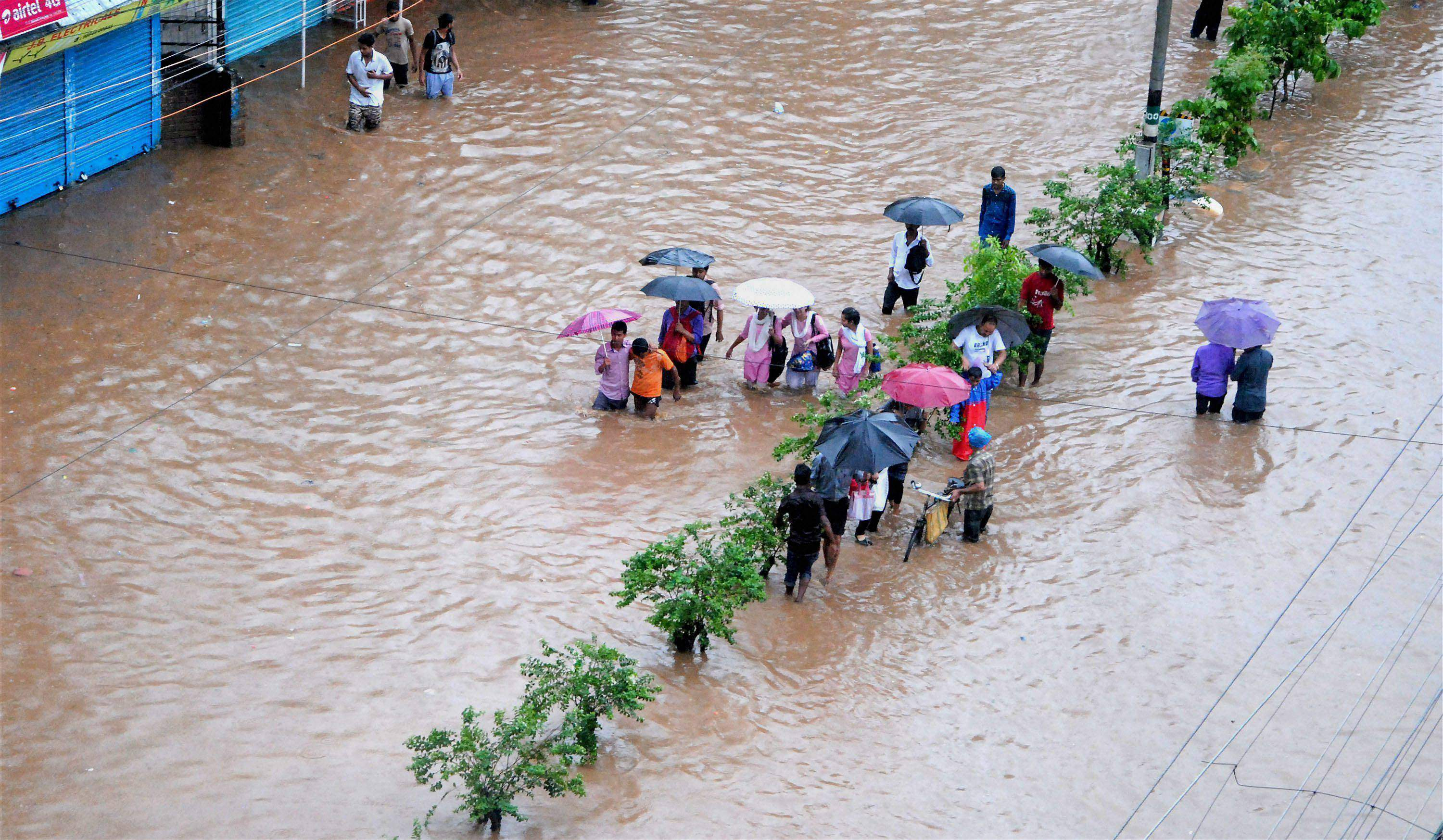 Third wave of floods hit Assam, three lakh affected