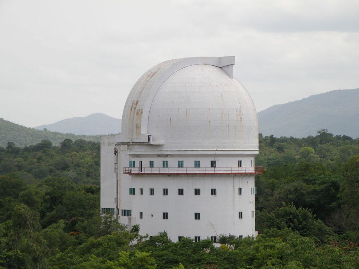 The Vainu Bappu Observatory in Kavalur, Tamil Nadu. Credit: Prateek Karandikar/Wikimedia Commons, CC BY-SA 4.0