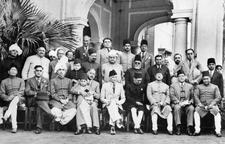 Muslim League leaders. Credit: Wikimedia Commons