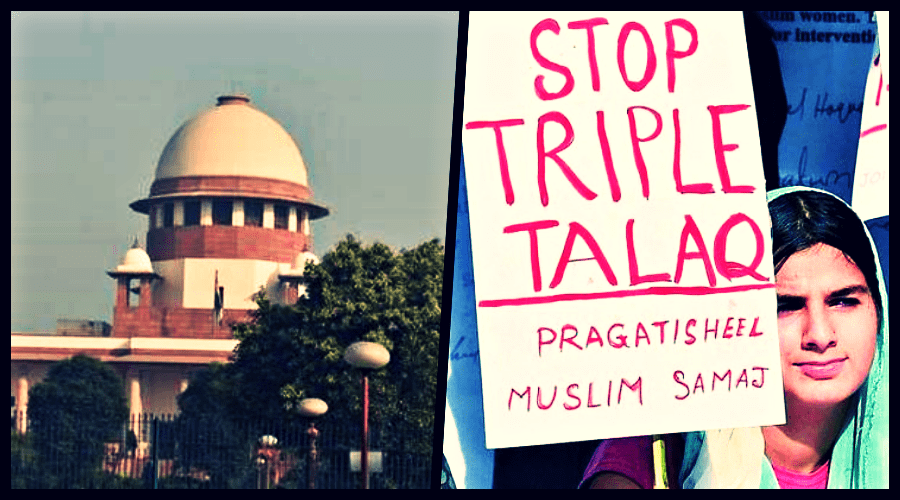 The Supreme Court on Tuesday set aside triple talaq as unconstitutional. Credit: PTI