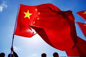 Chinese flag. Credit: Reuters