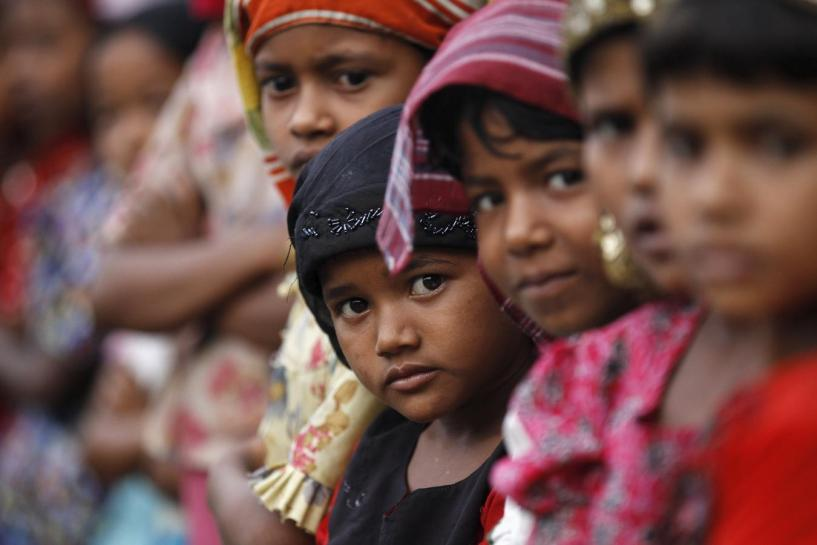 The Commonwealth Human Rights Initiative has asked the home affairs ministry to withdraw its advisory on deportation of Rohingya Muslims. Credit: Reuters/Soe Zeya Tun