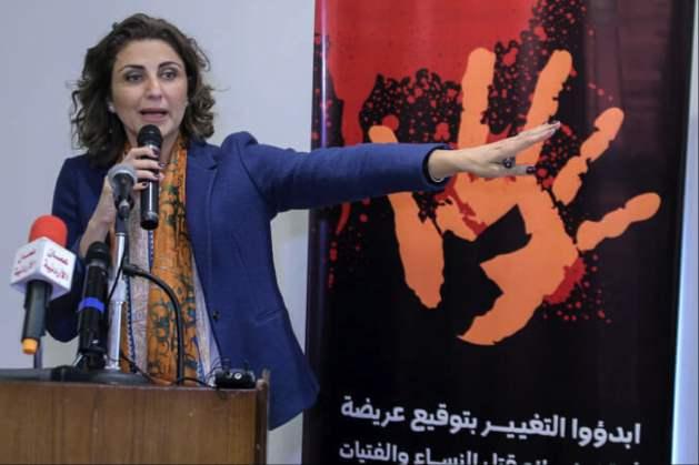 Salma Nims, Secretary-General of the Jordanian National Commission for Women. Credit: Jordanian National Commission for Women
