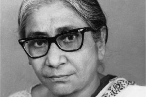 Asima Chatterjee in 1961. Credit: The Indian Scientists, CC BY-NC-SA 3.0