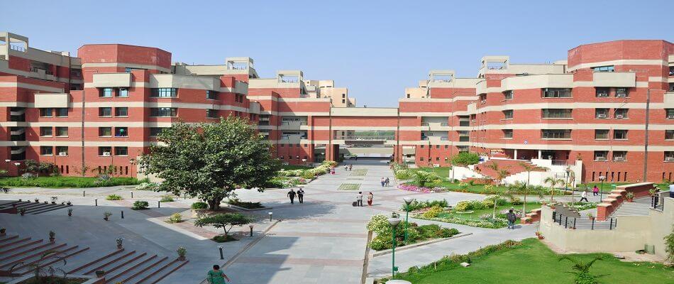 Guru Gobind Singh Indraprastha University campus. Courtesy: University website