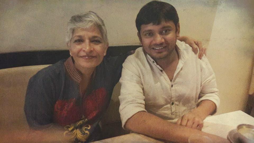 Gauri Lankesh Kanhaiya Kumar