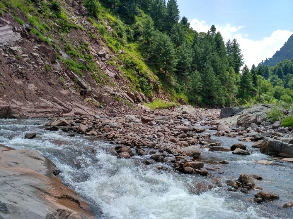 Haji Pir stream below Silikote village. Credit: Majid Maqbool